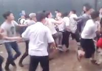 Vụ học sinh dàn trận hỗn chiến: Kỷ luật 36 học sinh