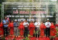VQG Phong Nha-Kẻ Bàng khai trương điểm du lịch sinh thái rộng 40ha