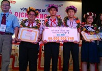 Học sinh trường Trần Đại Nghĩa vô địch cuộc thi tiếng Anh