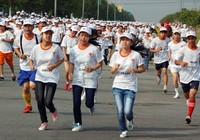 4.500 công nhân chạy bộ vì An toàn lao động