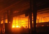Cháy lớn trong khu công nghiệp Nhơn Trạch 3