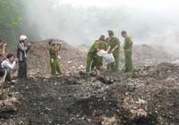 Cảnh sát môi trường được sử dụng vũ khí, vật liệu nổ