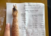 Đà Nẵng: Choáng với hóa đơn ăn trưa hơn... 4,5 triệu đồng