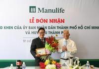 Manulife nhận bằng khen của UBND TP.HCM