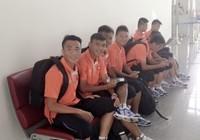 U19 Việt Nam mệt mỏi khi tới Myanmar