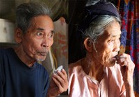 Chùm ảnh: Cặp vợ chồng còn duy trì tục ăn đất cổ xưa