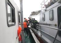 Chìm tàu Hoàng Phúc 18: Sóng lớn, công việc cứu hộ gặp khó khăn