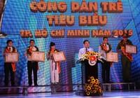 Vinh danh sáu 'Công dân trẻ tiêu biểu TP.HCM' 2015