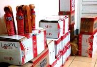 Thu giữ hơn 300 bình cứu hỏa mini nhập lậu từ Trung Quốc