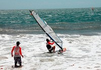 Phan Thiết: Khởi tranh Giải Lướt ván buồm quốc tế năm 2016