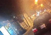 Xe biển xanh bị 'bêu' trên Facebook vì... nằm ở quán nhậu