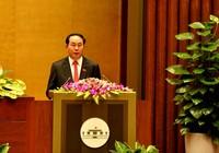Chủ tịch nước đọc tờ trình miễn nhiệm Thủ tướng Nguyễn Tấn Dũng