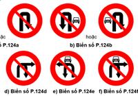 Từ 1-11: Thay đổi biển giao thông cấm rẽ, quay đầu xe