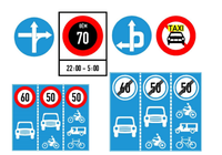 Cập nhật những biển cấm giao thông mới áp dụng từ 1-11