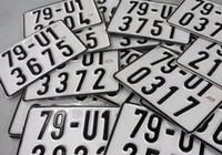 Mới: Lệ phí đăng ký, cấp biển số xe tối đa 20 triệu