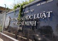 Thí điểm đổi mới Trường ĐH Luật TP.HCM