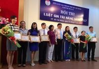 Hội thi Luật gia tài năng 2017