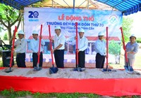 Khởi công xây dựng Trường Đèn Đom Đóm thứ 20