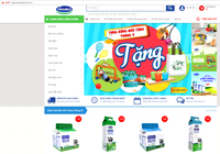 Vinamilk ra mắt webiste thương mại điện tử