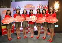 Vietjet mở cùng lúc 2 đường bay tới Đài Loan