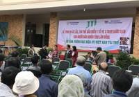 JTI Việt Nam tặng xe lăn, thẻ BHYT cho người nghèo