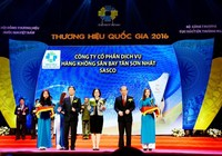 SASCO đạt Thương hiệu Quốc gia 2016