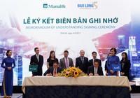 Manulife Việt Nam và Bảo hiểm Bảo Long ký hợp tác