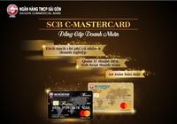 SCB ra mắt thẻ thanh toán dành cho doanh nghiệp