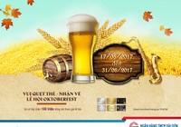 Trải nghiệm lễ hội bia Đức với Thẻ tín dụng quốc tế SCB