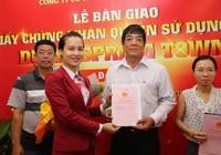 Địa ốc Kim Phát, Việt Hưng Phát trao hàng trăm sổ đỏ