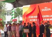 Nhà máy bia Sài Gòn - Củ Chi nhận huân chương