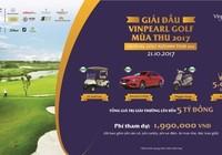 Vinpearl Golf Autumn Tour: tổng giải thưởng hơn 5 tỷ