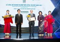 HEINEKEN Việt Nam: DN sản xuất bền vững nhất