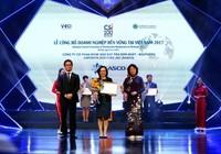 SASCO được vinh danh TOP 10 doanh nghiệp bền vững