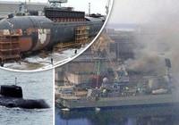 Hé lộ nguyên nhân tàu hạt nhân Nga bốc cháy dữ dội