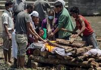 Dân Nepal chết nhiều đến mức không có chỗ thiêu