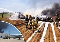 Rơi máy bay quân sự, 10 người thiệt mạng