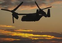 Máy bay quân sự Mỹ rơi