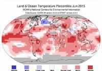Năm 2015 nóng kỷ lục trong vòng hơn 135 năm qua