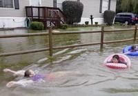 Mỹ: Lượng mưa kỉ lục trong vòng 1000 năm qua