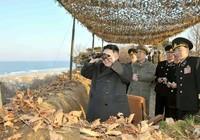 Giàn phóng tên lửa Triều Tiên di chuyển