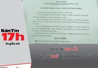 Sở Y tế xin lỗi bác sĩ 'chê' Bộ trưởng Bộ Y tế