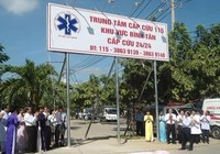 TP.HCM: Thêm 3 trung tâm cấp cứu 115 đi vào hoạt động