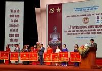 Ông Nguyễn Đức Chung tuyên dương nhà giáo điển hình HN