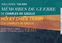 Tọa đàm Hồi ký chiến tranh của tướng Charles de Gaulle