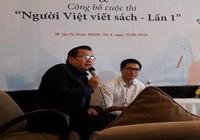 """Công bố cuộc thi """"Người Việt viết sách"""""""
