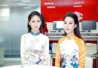 Mỹ Linh, Thanh Tú diện áo dài của hoa hậu Ngọc Hân