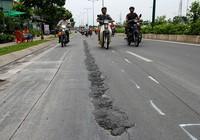 Đại lộ đẹp nhất TP.HCM xuất hiện nhiều vết nứt lạ