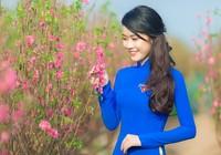 Ngắm Á khôi Nữ sinh viên VN duyên dáng bên hoa đào