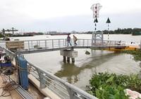 Cấp tập thi công bến tàu buýt sông đầu tiên ở TP.HCM